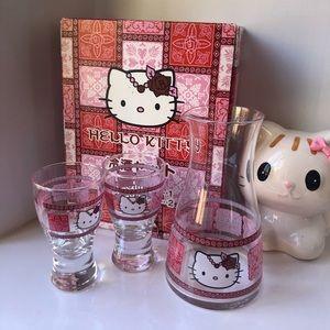Hello Kitty 3-pc Glass Set